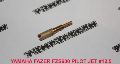 YAMAHA FAZER FZS 600 CARBURETTOR 12.5 PILOT JET YAMPART.COM - Copy