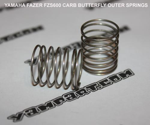 YAMAHA FAZER FZS 600 CARBURETTOR BUTTERFLY SPRINGS YAMPART.COM