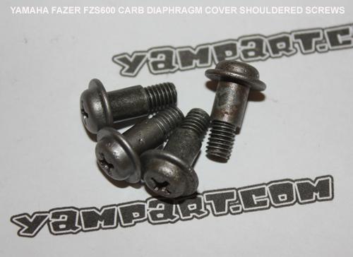 YAMAHA FAZER FZS 600 CARBURETTOR DIAPHRAGM COVER SCREWS YAMPART.COM