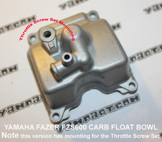 YAMAHA FAZER FZS 600 CARBURETTOR FLOAT BOWL 1 YAMPART.COM