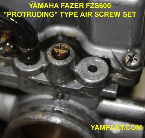 YAMAHA FAZER FZS 600 CARBURETTOR PROTRUDING TYPE PILOT SCREW SET YAMPART.COM - Copy