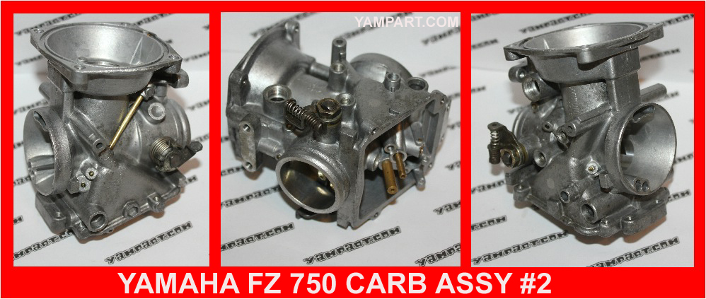 YAMAHA FZ 750 CARB CARBURETTOR ASSY #2 YAMPART.COM - Copy