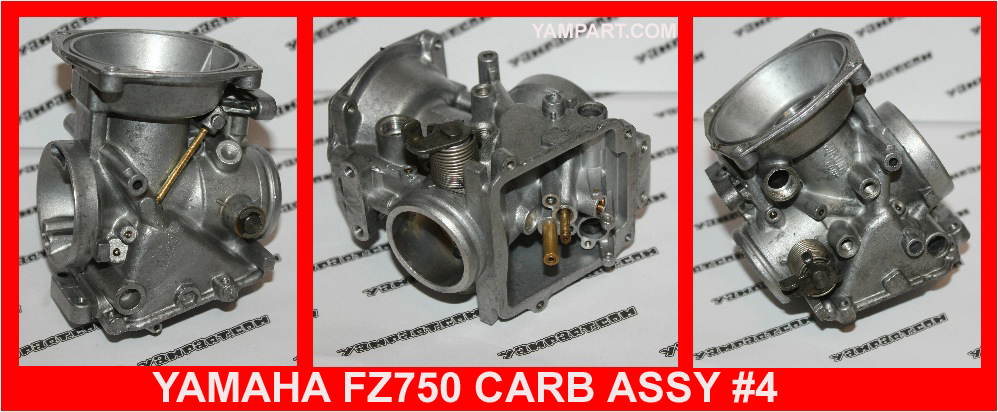 YAMAHA FZ 750 CARB CARBURETTOR ASSY #4 YAMPART.COM - Copy