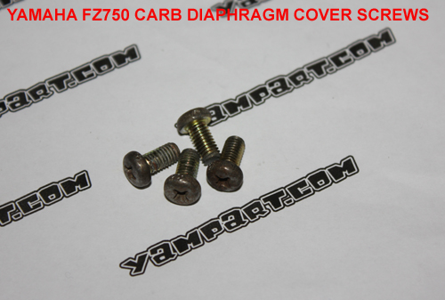 YAMAHA FZ750 CARB CARBURETTOR DIAPHRAGM COVER SCREWS YAMPART.COM - Copy