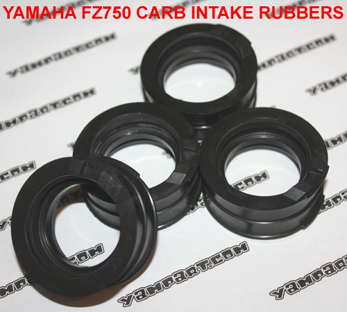 YAMAHA FZ750 CARB CARBURETTOR INTAKE RUBBERS YAMPART.COM - Copy