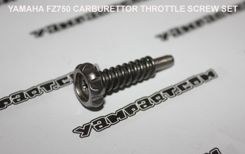 YAMAHA FZ750 CARB CARBURETTOR THROTTLE SCREW SET YAMPART.COM - Copy