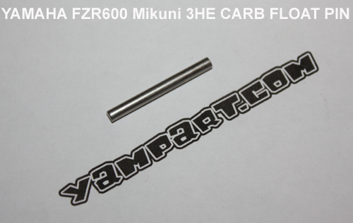 YAMAHA FZR 600 MIKUNI 3HE CARB CARBURETTOR FLOAT PIN YAMPART.COM - Copy