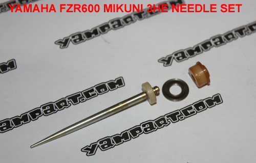 YAMAHA FZR 600 MIKUNI 3HE CARB CARBURETTOR NEEDLE SET YAMPART.COM - Copy