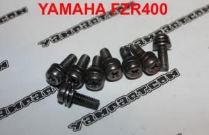 DIAPHRAGM COVER SCREWS YAMAHA FZR 400 MIKUNI 3EN CARB CARBURETTOR YAMPART.COM - Copy