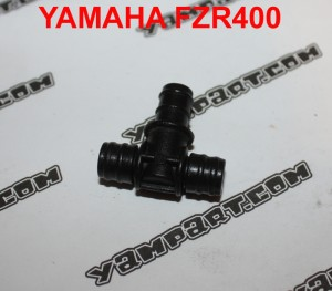 PART NUMBER 51 T TEE PIECE PIPE CONNECTOR YAMAHA FZR 400 MIKUNI 3EN CARB CARBURETTOR YAMPART.COM - Copy
