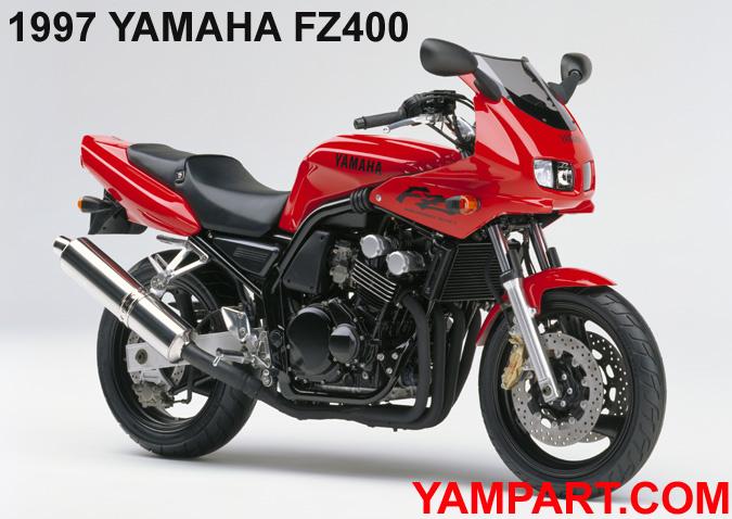1997 YAMAHA FZ400 YAMPART.COM FAZER FZS600 USED PARTS - Copy