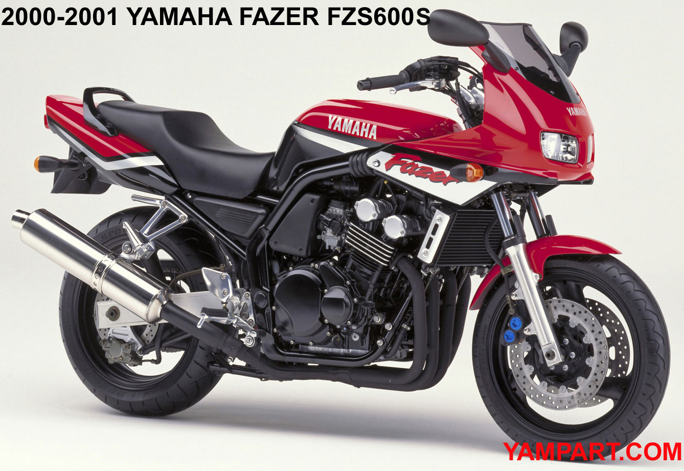 2000 2001 YAMAHA FAZER FZS600S USED PARTS YAMPART.COM BUYERS GUIDE - Copy