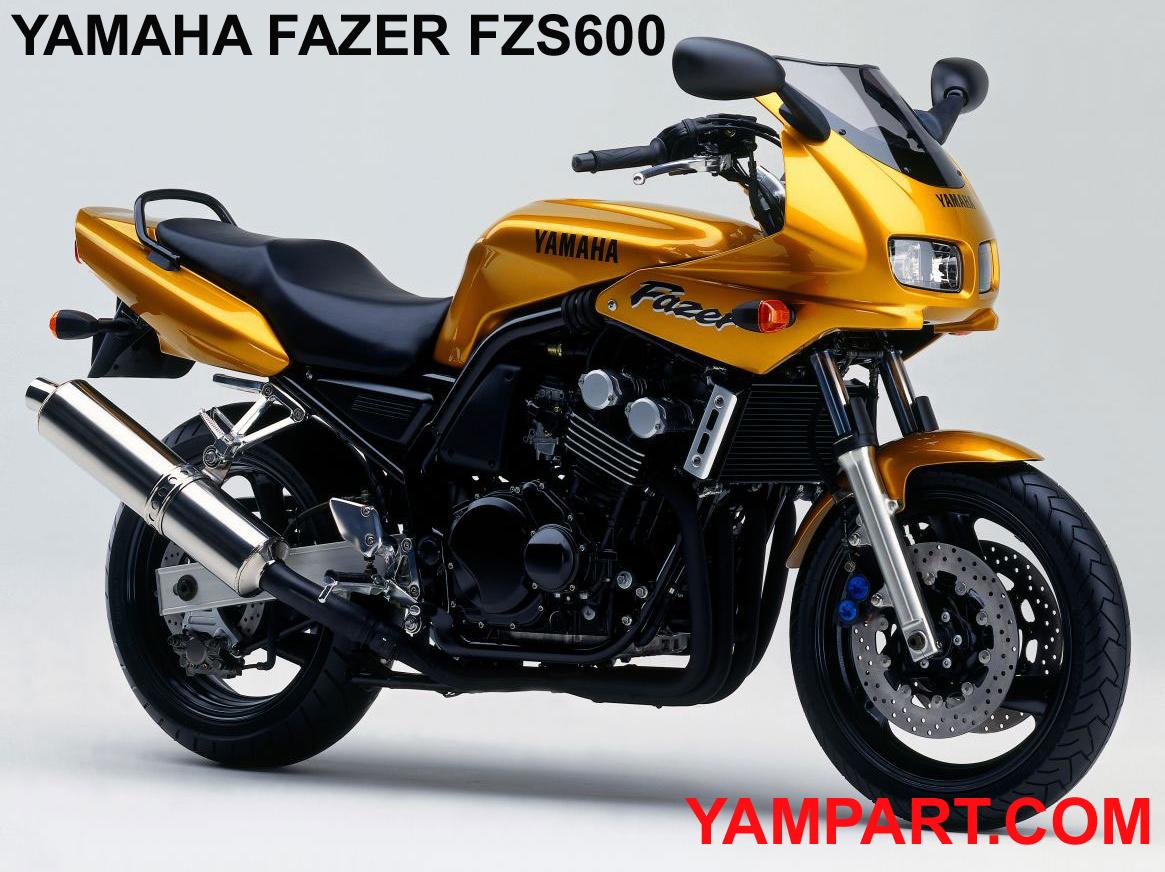 USED YAMAHA FAZER FZS 600 PARTS 1998 1999 YAMPART.COM - Copy