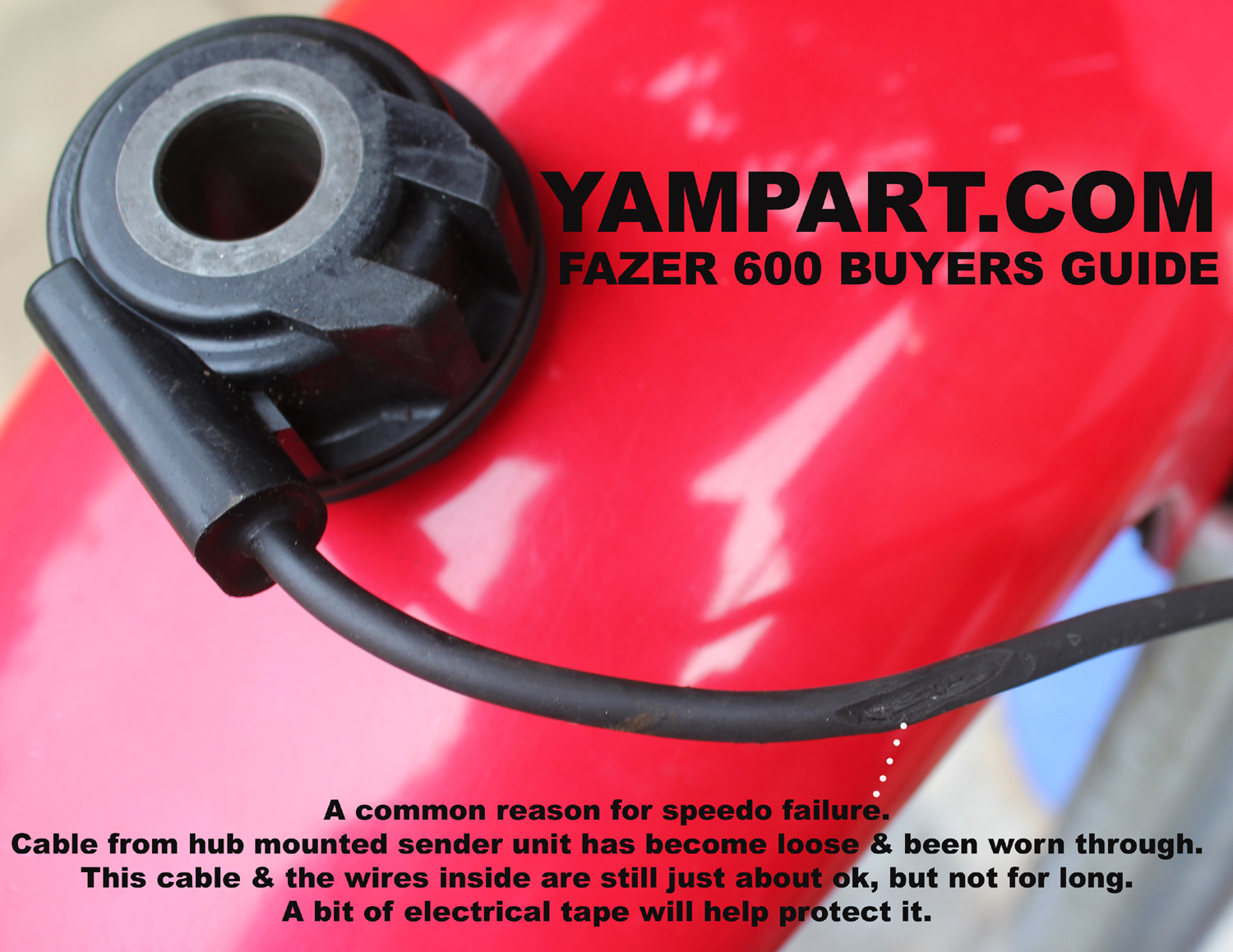 YAMAHA FAZER FZS 600 BUYERS GUIDE SPEEDO NOT WORKING PROBLEMS YAMPART.COM UESD PARTS - Copy